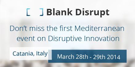 #BlankDisrupt Catania 28-29 march